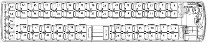 Mercedes Tourismo 3 Assi pianta